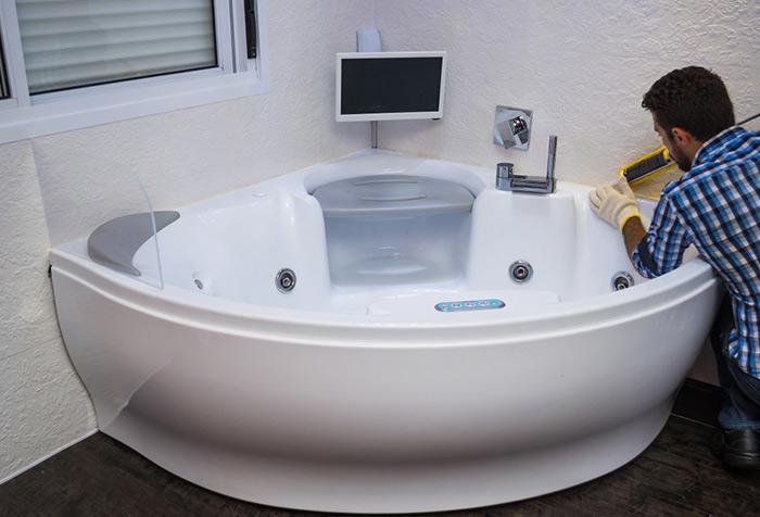 Aménagement et création de salle de bains à Annecy